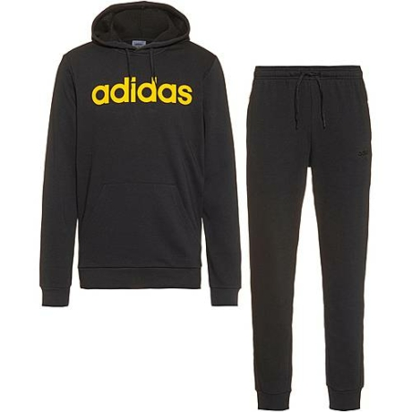 ADIDAS MENS HOODED TRACKSUIT